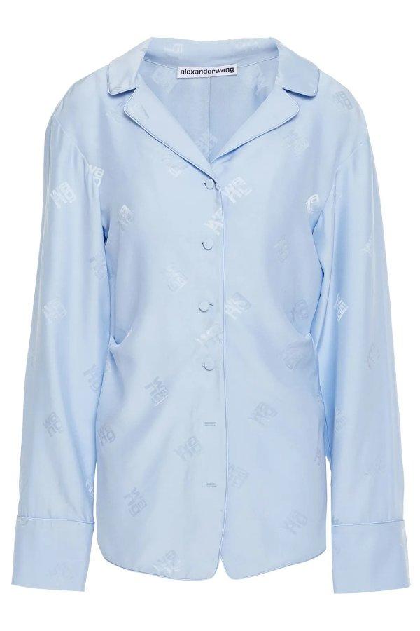 Silk-jacquard 丝质衬衣