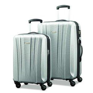 $117.54收 Windfield 2 28吋$89新秀丽 Pulse Dlx 时尚轻质行李箱2件套 20+28吋