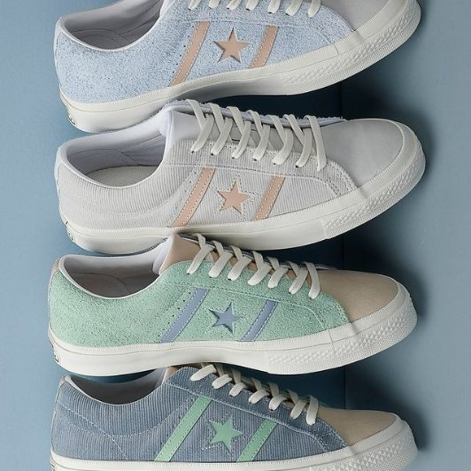 Converse 春季帆布鞋穿搭指南 分享一周七色 随心变Converse 春季帆布鞋穿搭指南 分享一周七色 随心变