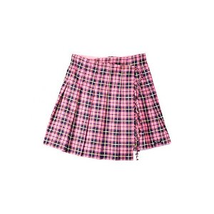 Burberry儿童羊毛短裙