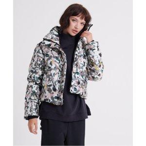 SuperdryJacquard Puffer Jacket