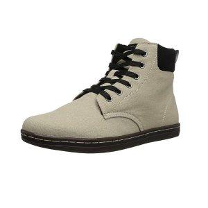 现价$25.99(原价$79.95)折扣升级:Dr. Martens 白色帆布马丁靴
