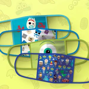 $19.99/4个 大人儿童码全迪士尼卖布口罩了 口罩可反复使用 超萌图案 大人儿童码全