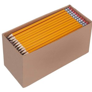 是不是不要钱 是不是AmazonBasics 木头铅笔 150支 特价 折合€0.086一支