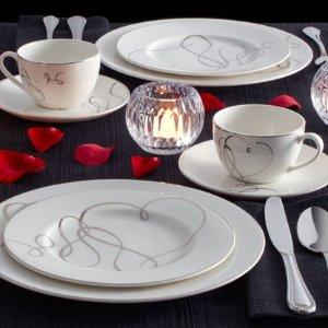 额外8折Mikasa 全场餐具、家居装饰品情人节热卖