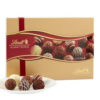 现价$9.98(原价10.59)Lindt 缤纷松露巧克力 礼盒装 7.3oz