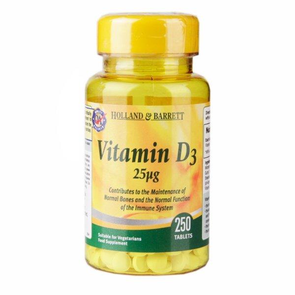 维生素D3 250 片
