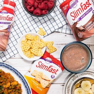 新品咖啡味仅€16.59 低脂低卡Slimfast 英国超火代餐粉 四个口味可选 好身材吃出来