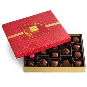 折上折 $24.12(原价$48.00)Godiva 猪年限定巧克力礼盒 共18颗