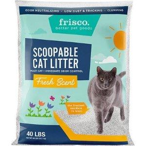 FRISCO清新味道多猫家庭猫砂 40lb