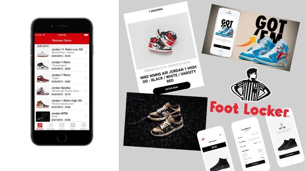 干货!球鞋购买app、抽签网站大盘点!收藏好这篇攻略,别再问原价球鞋怎么抢了
