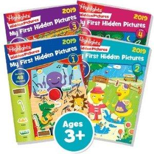 $16.68 (原价$27.80)2019新版Highlights Hidden Pictures考眼力图书4册促销
