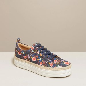 Mia Floral Platform Sneaker
