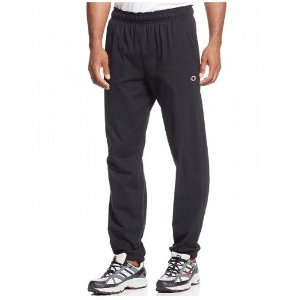 Up to 40% Off Champion Jersey Banded Men's Pants On Sale