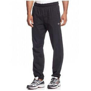 低至6折 双色可选Champion Jersey Banded 男款休闲运动裤促销