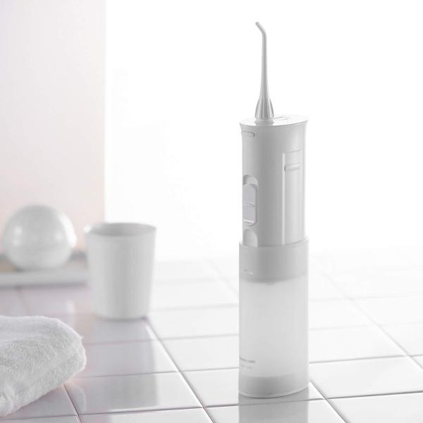 Panasonic DJ10-W 便携式无线水牙线 白色