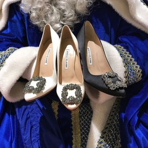 Manolo Blahnik 女鞋热卖 入超美钻扣,通勤必备款