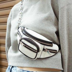 最高送$1250礼卡 多色可选Alexander Wang 新款腰包、断跟靴热卖