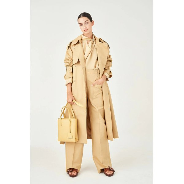 Cotton-Linen 风衣