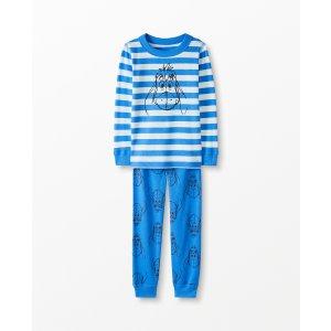 Hanna Andersson儿童有机棉睡衣