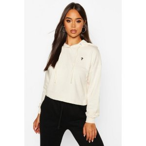 BoohooMicro Pocket Cropped Hoody