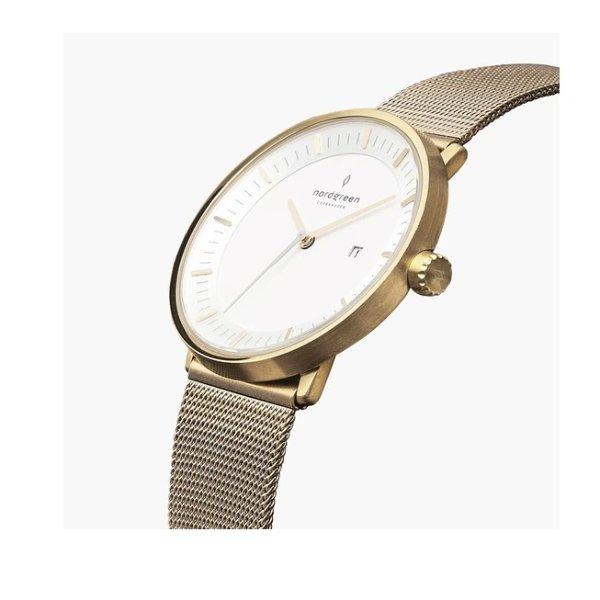 Philosopher 金色表带手表