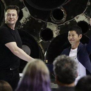 电商大佬要上天啦马斯克的登月计划即将成行 全球首位私人环月旅行客户公布