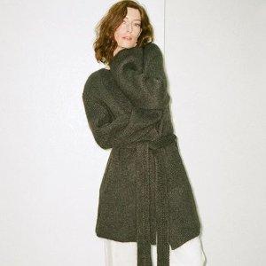 低至3折 收Acne、Ganni上新+部分补货:Matchesfashion 大牌毛衣针织专场 入羊绒马海毛