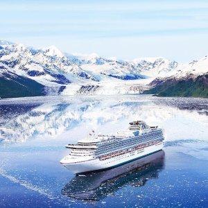 Princess Cruises冰川北缘之旅 含冰川湾 5月船期