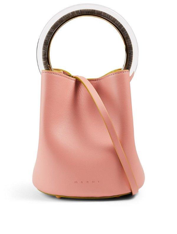 Pannier 粉色水桶包