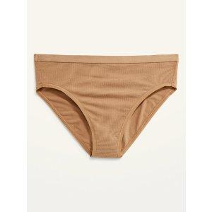 Old NavyHigh-Waisted Jersey Bikini Underwear for Women