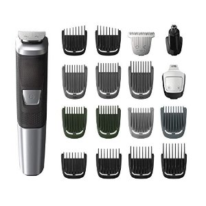 PhilipsMulti Groomer MG5750/49 - 18 piece, beard, body, face, nose, and ear hair trimmer and clipper