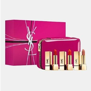 YSL BeautyRouge Pur Couture Vanity Lipstick Trio
