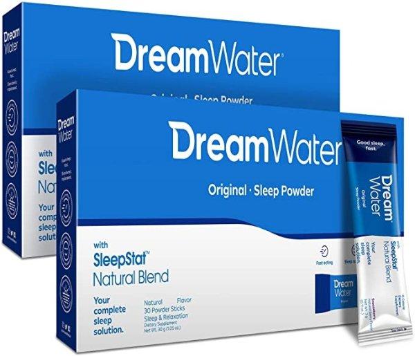 Dream Water 褪黑素助眠粉 60包