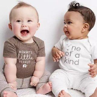 5折起+满$40额外8折折扣升级:Carter's童装官网  全新新生宝宝系列,包臀衫套装降价