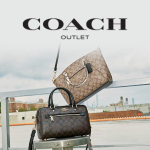 Up To 70% Off + 15% OffComing Soon: COACH Outlet The Friends & Family Sale