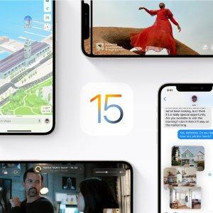 """不等公测版, 也能""""体验""""新OSApple 全新iOS 15 原生高清壁纸下载, 新系统开机画面有惊喜"""