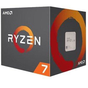 $139.99(原价$299.99)AMD Ryzen 7 2700 8核 AM4 处理器 带Wraith散热器