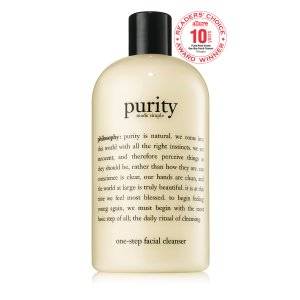 Philosophy$25 off $75 Philosophy Rewardspurity made simple one-step facial cleanser