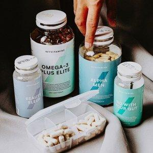 精选产品最高享3.5折Myvitamins 全场大促 囤货必备维生素、美容保健品好时机