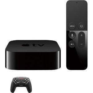 $209.98 (原价$249.98)Apple Apple TV 4K 64GB  + SteelSeries Nimbus 无线游戏手柄