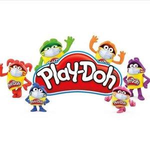 低至4.5折 5个装$3.97限今天:Play-Doh 培乐多让小手快乐捏捏捏 寿司套装$11.99