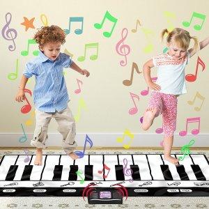 $28.85Click N' Play Gigantic Keyboard Play Mat, 24 Keys Piano Mat