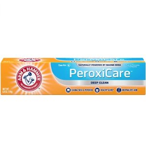 Arm & Hammer PeroxiCare 小苏打含氟亮白牙膏 6oz