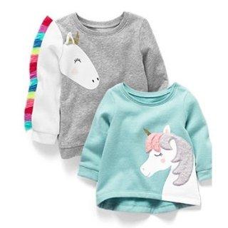 低至2.4折+送券+包邮折扣升级:Carter's童装官网 毛衣、卫衣等可爱实用上衣热卖
