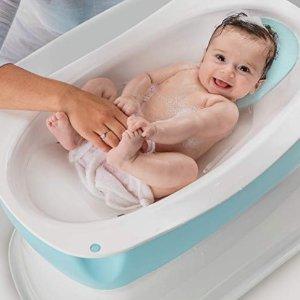 $6.65起婴幼儿浴盆、浴室躺椅、沐浴海绵垫特卖,洗澡更开心