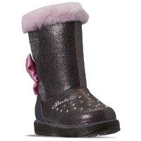 Skechers 女幼童雪地靴