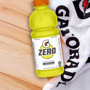 Gatorade 无糖柠檬味运动饮料 20oz 12瓶