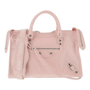 BalenciagaPink Leather Classic City S Bag