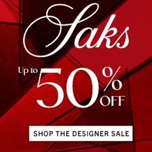 Up to 50% off+extra 10% OffSaks Fifth Avenue Designer Sale